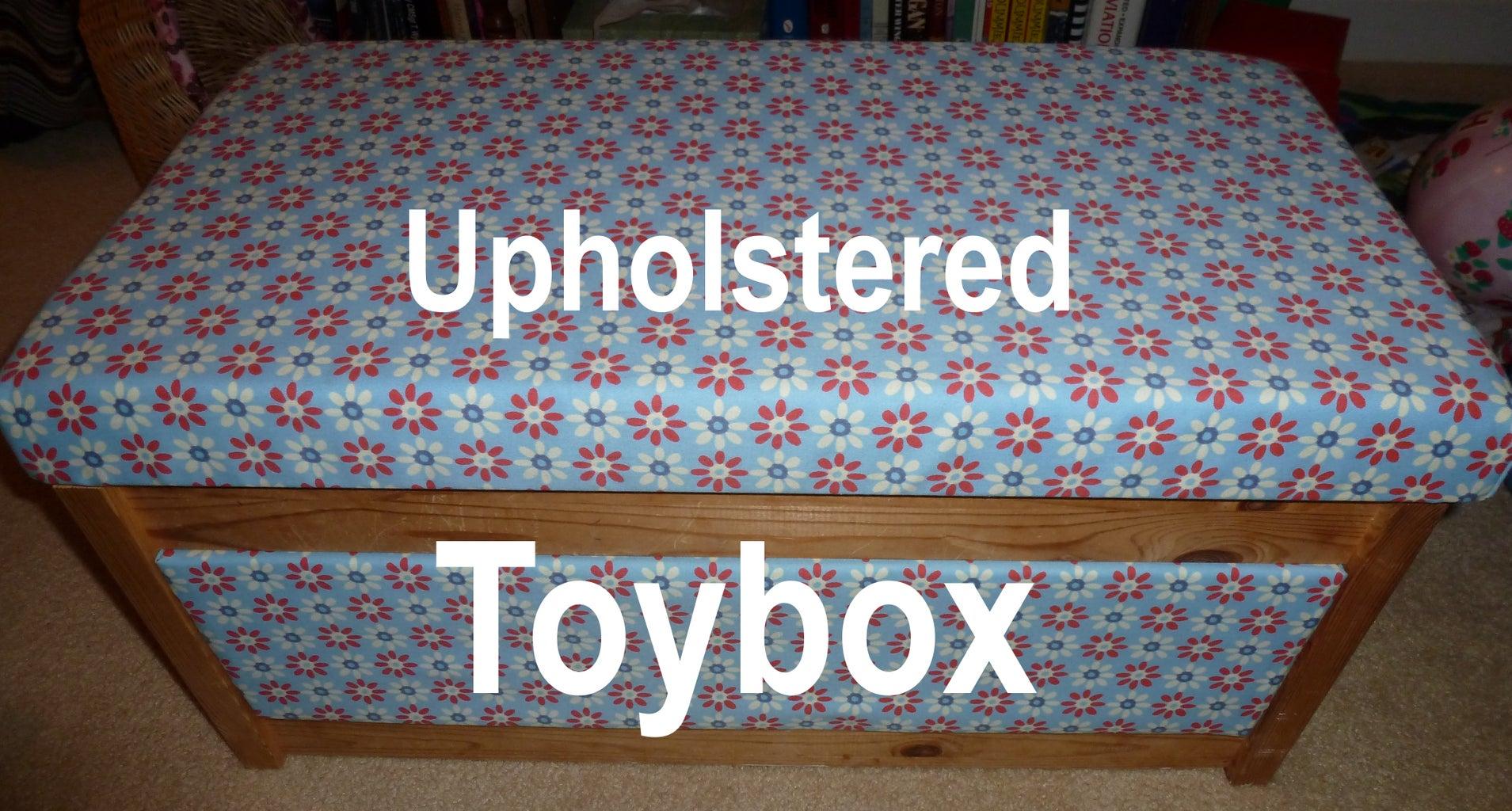 Upholster an Ikea Toybox