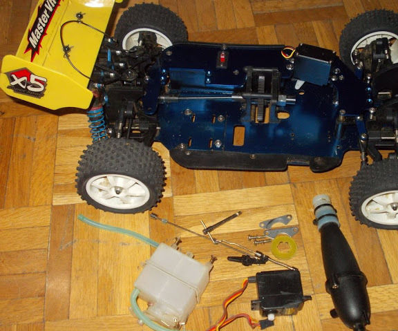 Converting Old Nitro Car to Electric