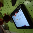 iPad Optimized Kitchen Pegboard