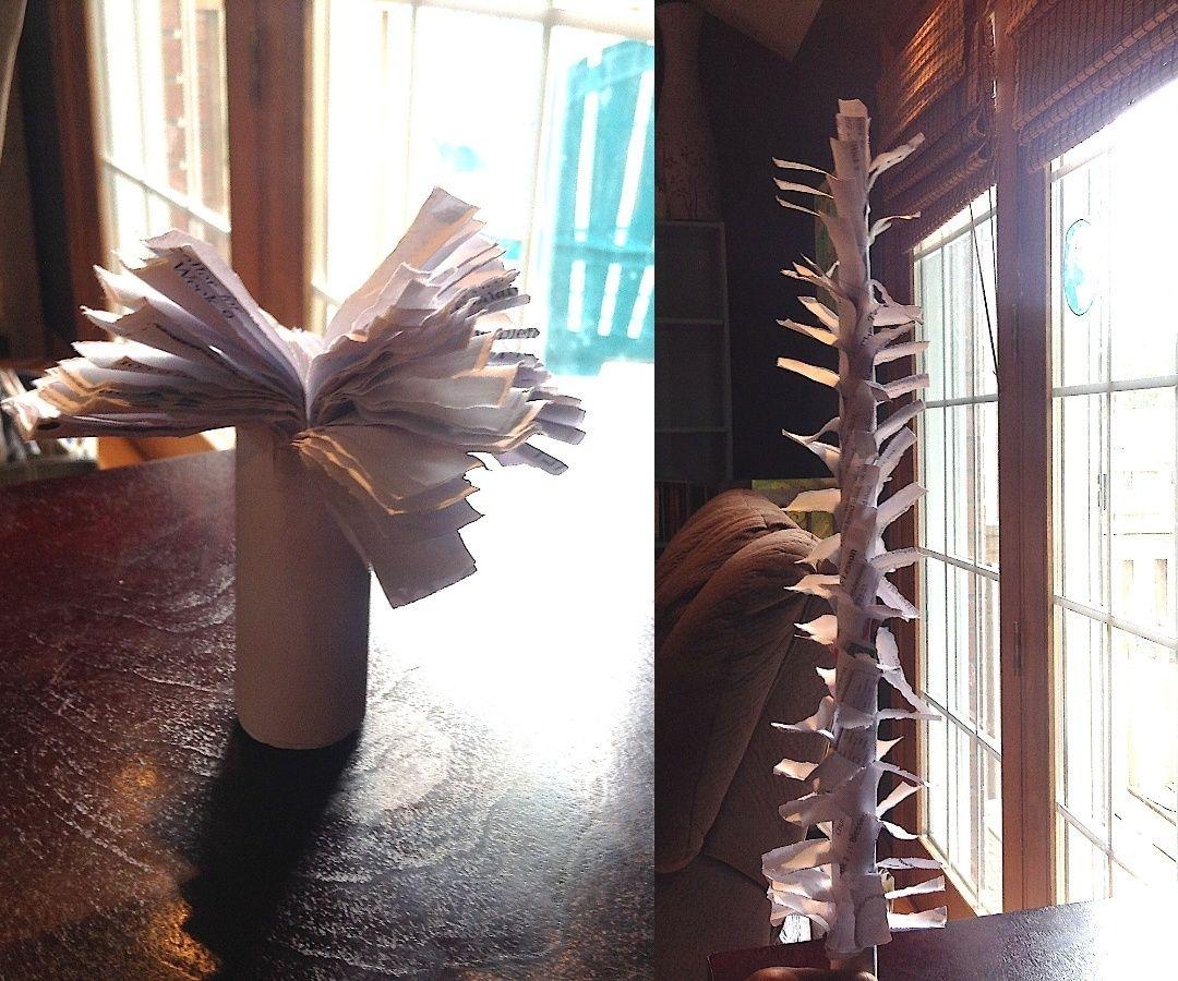Magic Paper Palm Tree!