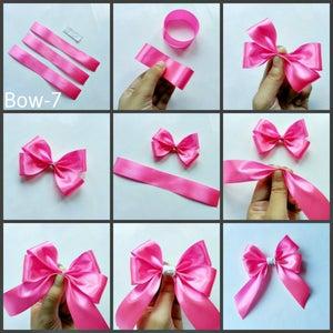 3 Ribbons Hair Bows