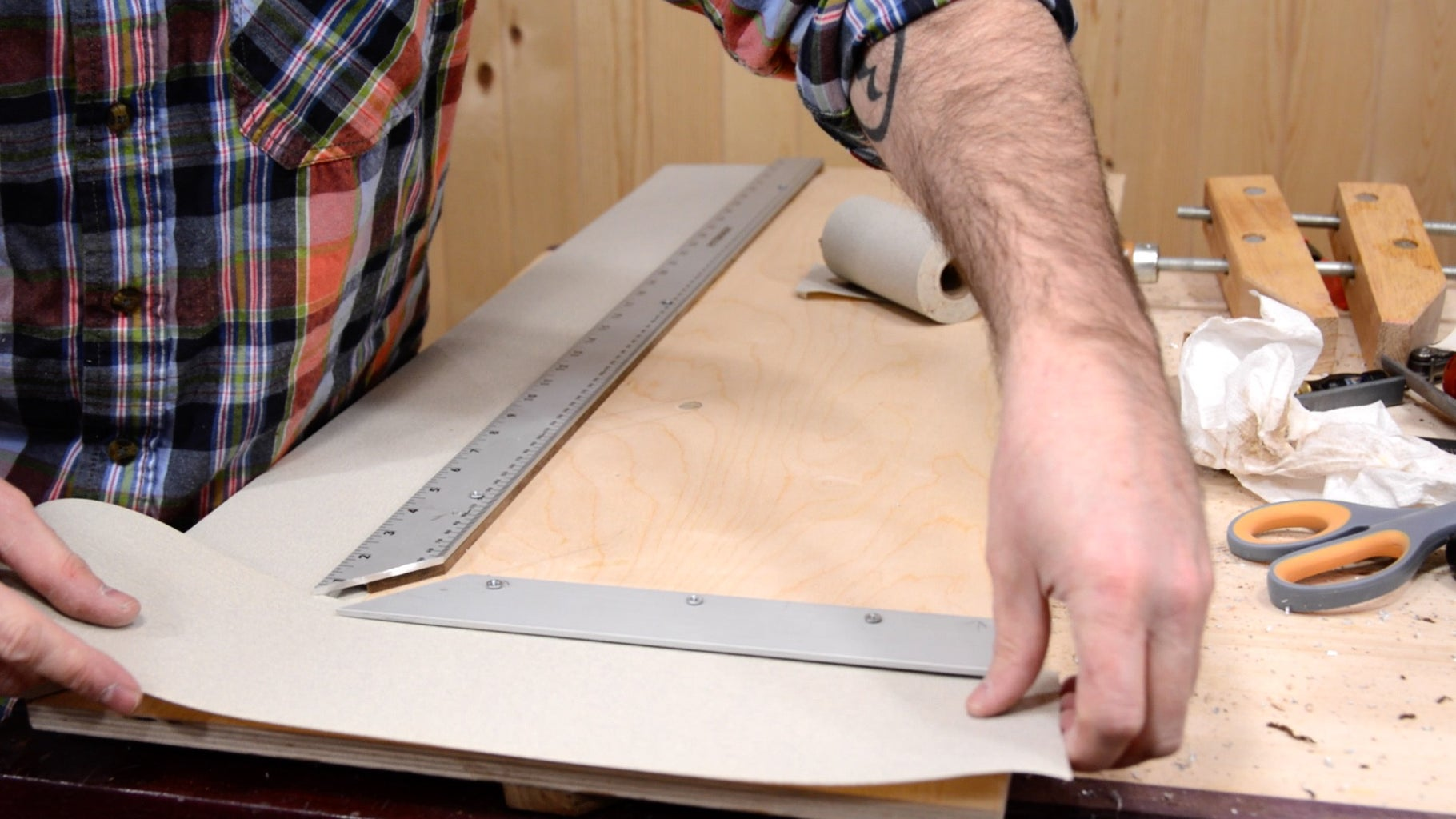 Step 16: Add Sandpaper Grip