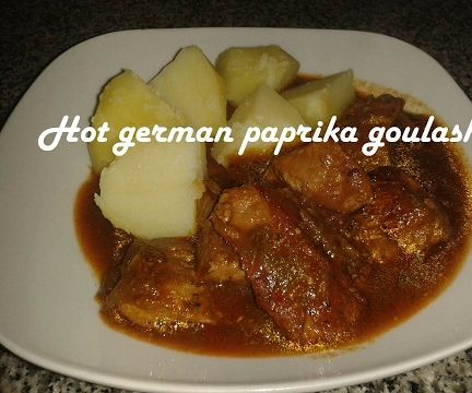 Hot German Paprika Goulash Recipe