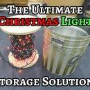 DIY Christmas Light Storage Spool