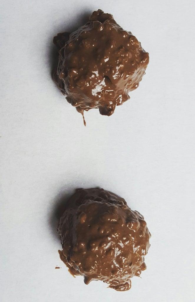 Coat Truffles in Chocolate Hazenut Coating