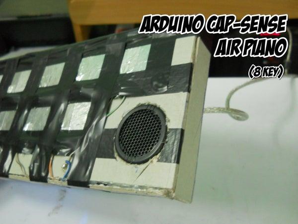 Arduino Air Cap-Sense Piano