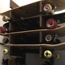 Easy Skateboard Rack