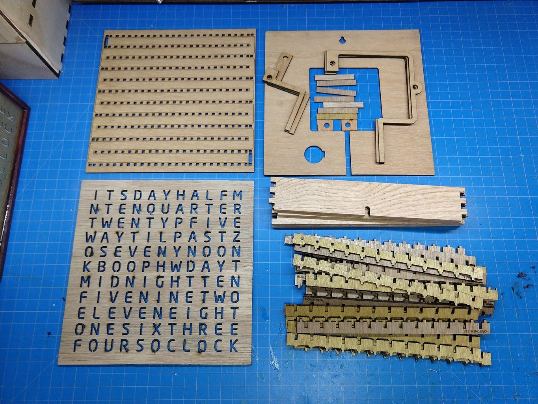 Cut Plywood Parts