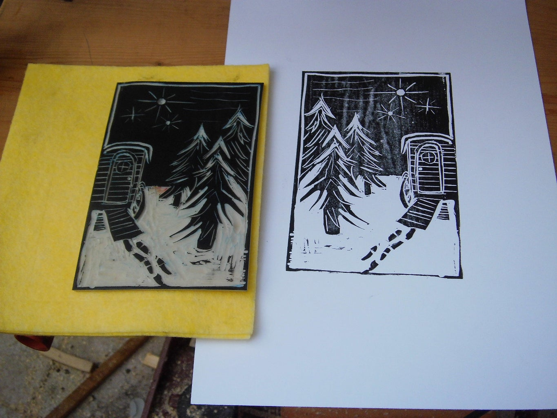 Lino and Stamps Printing Press