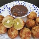 Low Fat Drop Fried Sweet Potato Bread Roll