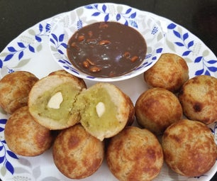 Low Fat Drop Fried Sweet Potato Bread Roll