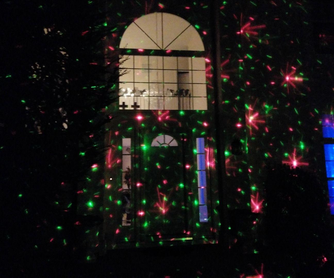 Cheap DIY Christmas Laser Light Show ~$16