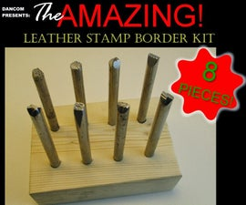 DIY Leather Border Stamp Kit