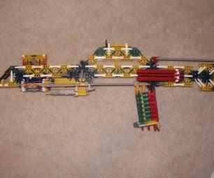 Knex M47 Full Stock Shotgun/Rifle (with Actual Pump Action!!)