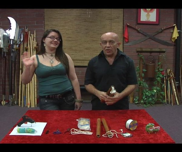 How to Restring Nunchuku, With Keith and Sylvia!