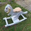 TaunTaun Wooden Rocking Horse