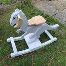 TaunTaun Wooden Rocking Horse