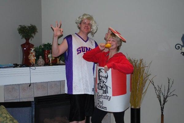 KFC Bucket of Chicken Costume