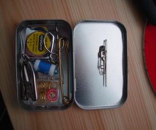 Small Tin Knitting Kit (like Altoids)