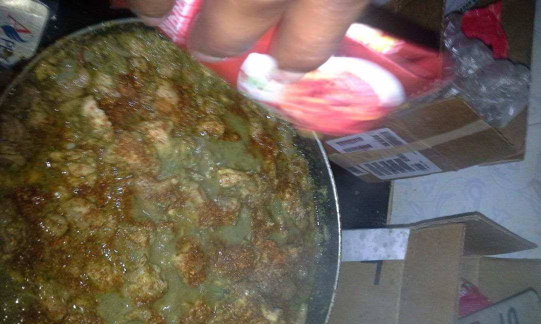 Mix the Chicken Fry Powder