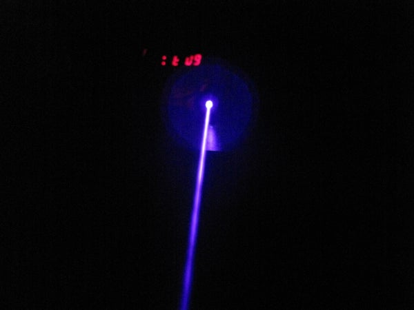 How to Make a High Power Burning Blueray Laser! Easy,cheap and Focusable!
