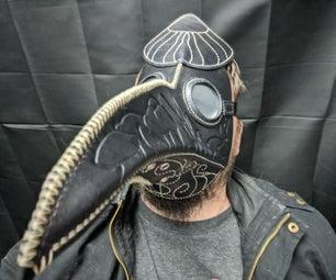 Mushroom Themed Plague Doctor Mask