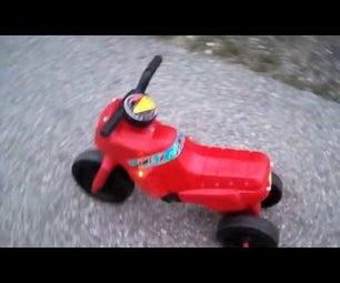 LED Tuning for Kid Motorbike