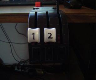 Saitek Throttle Quadrant Knob Repaint