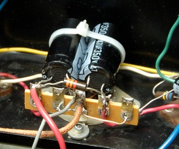 Replacing the Filter 'can Capacitors'