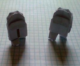Origami Among Us Figures