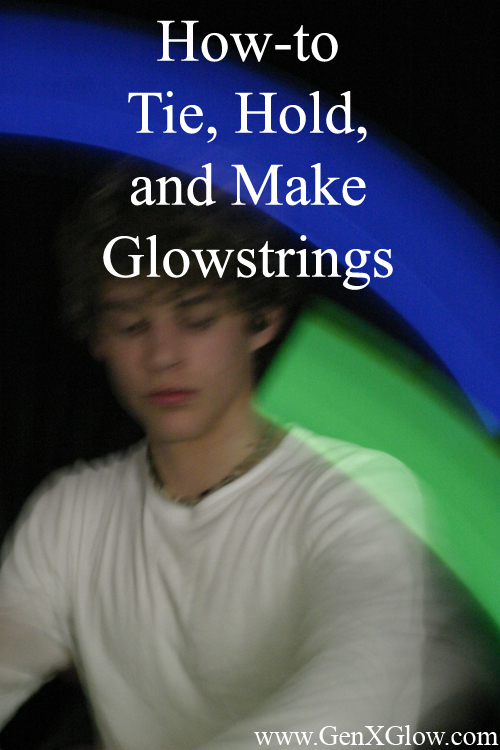 How to make glowstrings