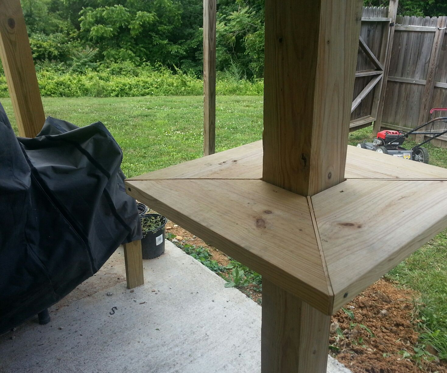 Deck Support Table