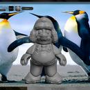 3d Model Winter Mario
