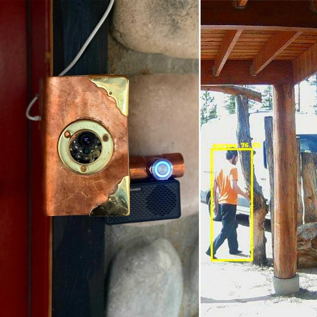 Raspberry Pi DIY Smart Doorbell That Can Detect People, Cars, Etc.