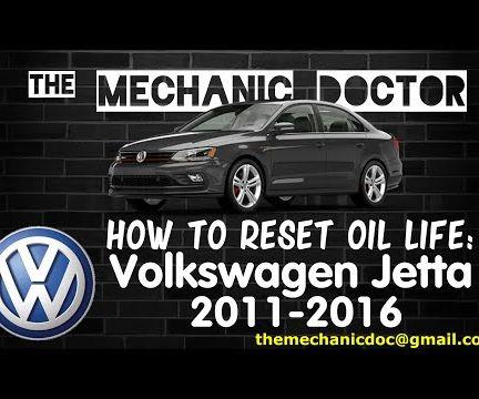 How to Reset Oil Light: Volkswagen Jetta 2011-2016