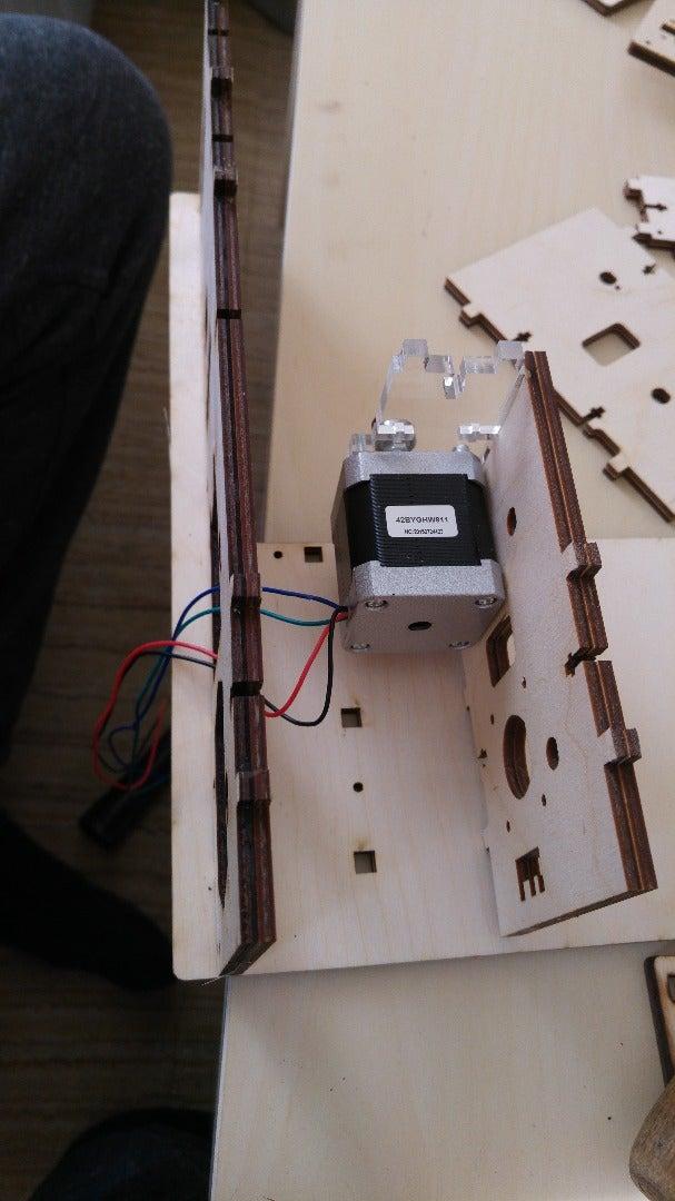 Stap 4: Montage Onderdelen/ Opbouw Frame