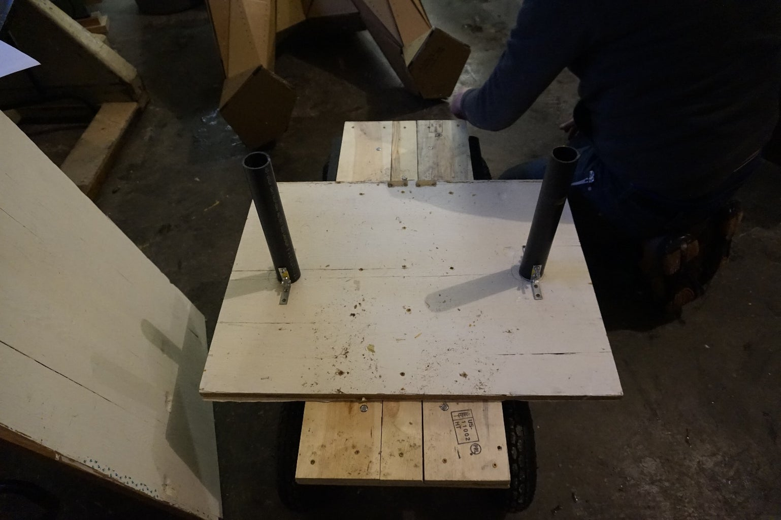 Constructing the Cart and Frame