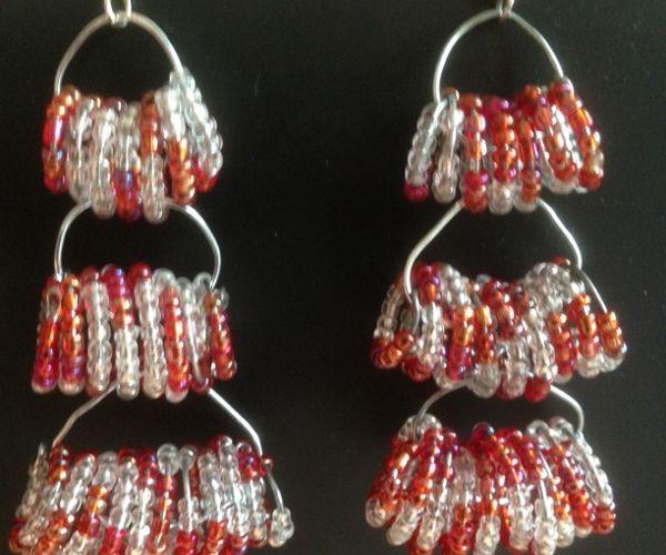 Layered Swirl  Earrings