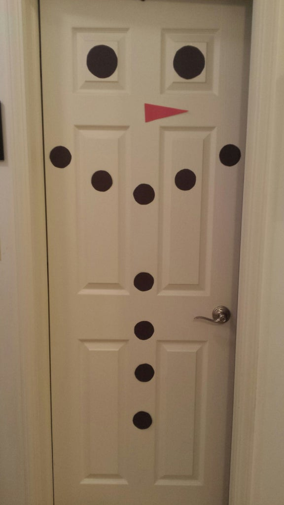 Take Your Pieces and Assemble the Snowman.