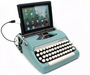 Installing USB Typewriter Conversion Kit for Corona and Smith-Corona Typewriters