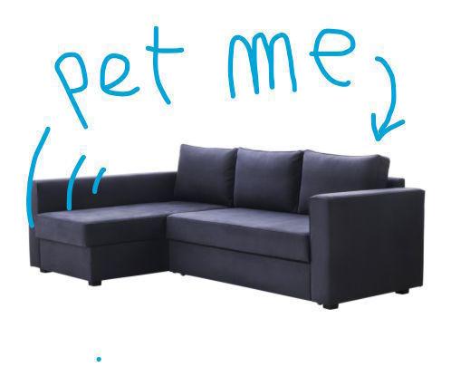 Interactive Purring Sofa