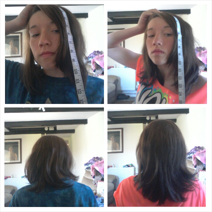 How to grow your hair 1 inch or more in a week, with the inversion method.