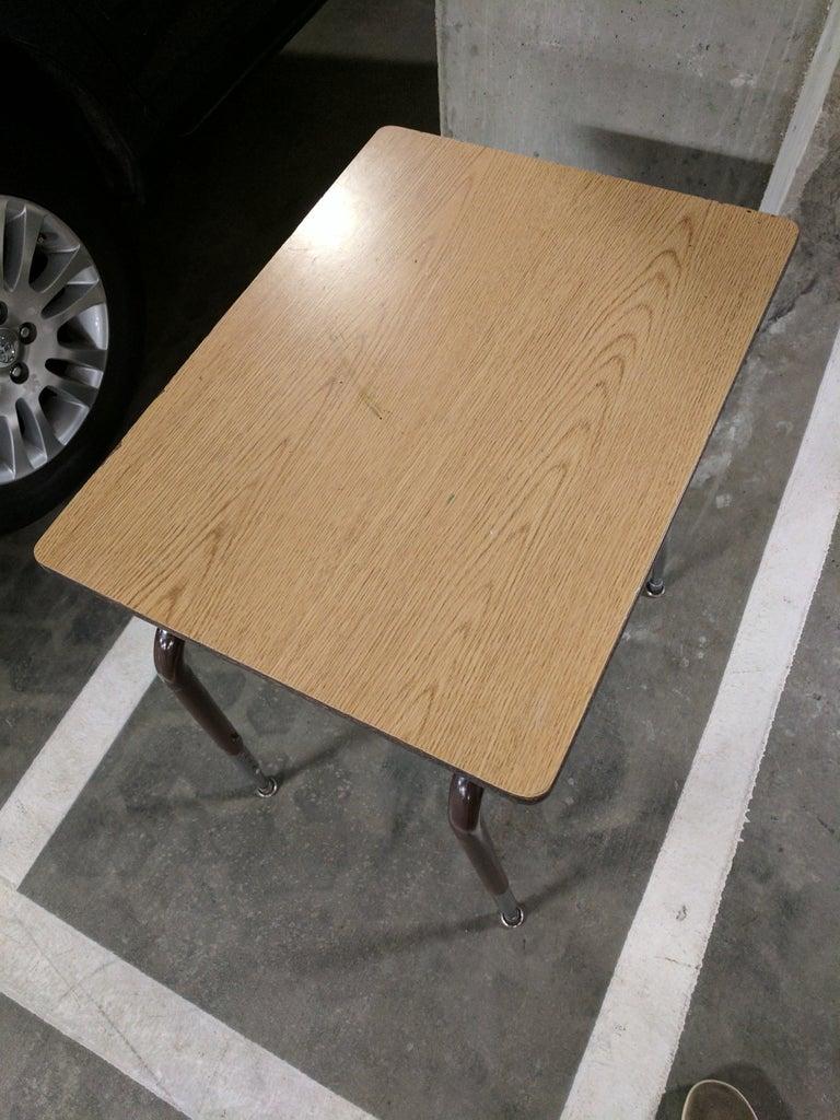 """""""Penny"""" Board From an Old School Desk."""