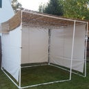 PVC Sukkah / Symbolic Wilderness Shelter