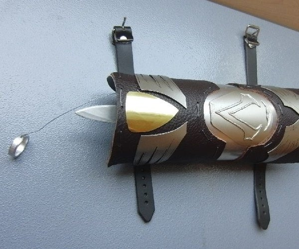 Assassins Creed Style KNIFE LAUNCHER