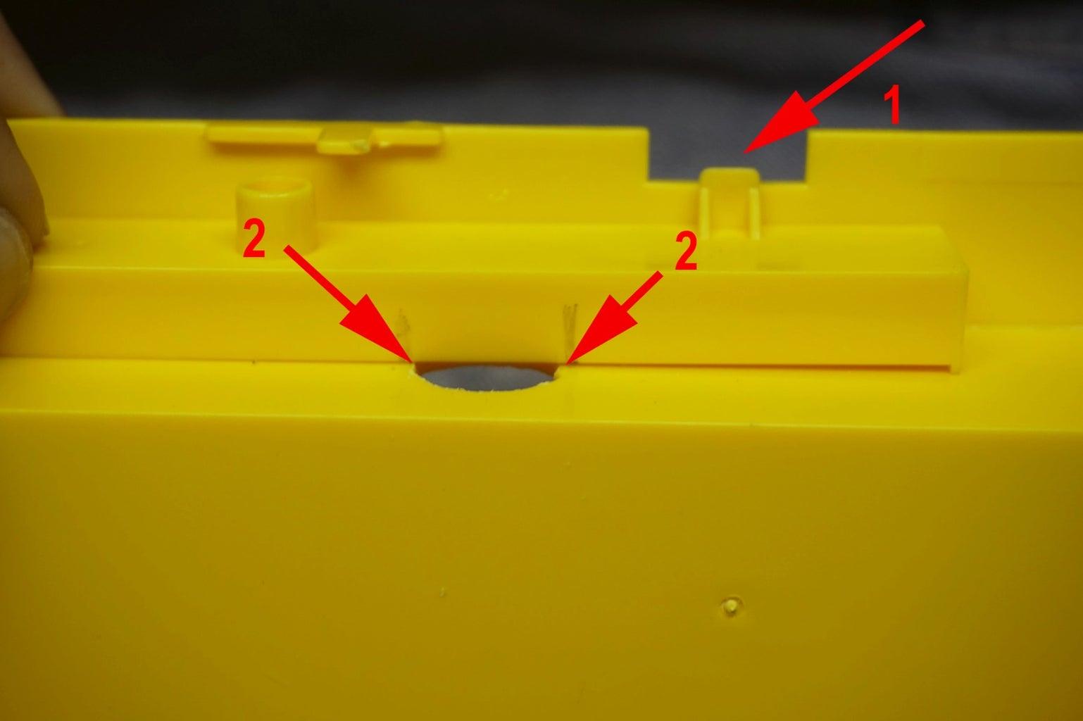 Modify the Door Release Bar