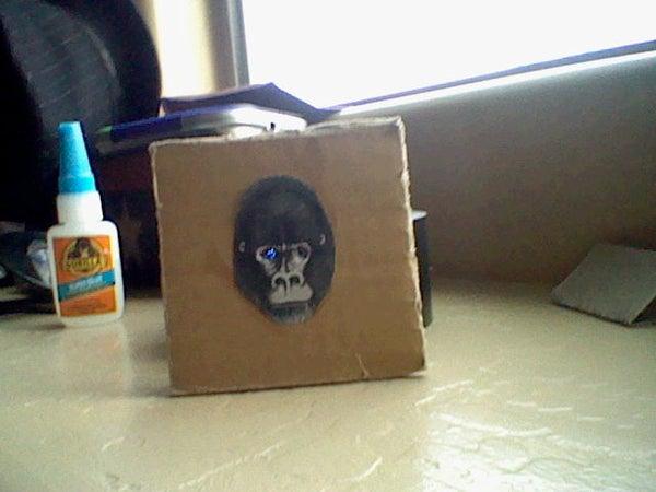 LED Cardboard Coaster