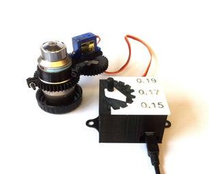 显微镜物镜电动校正环