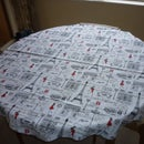 Sew an Octagonal Tablecloth Without a Pattern