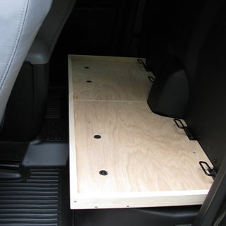 Chevy Colorado/GMC Canyon Extended Cab Rear Seat Removal and Cargo Storage